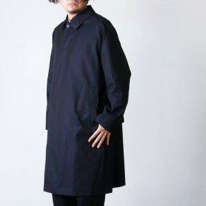 ANATOMICA (アナトミカ) SINGLE RAGLAN � S PROOFED GABARDINE Navy For Men / シングルラグランネイビー