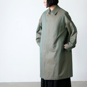 [THANK SOLD] ANATOMICA (アナトミカ) SINGLE RAGLAN � S PROOFED GABARDINE Olive For Women / シングルラグランオリーブ