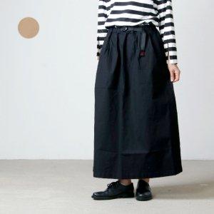 GRAMICCI (グラミチ) WEATHER LONG FLARE SKIRT / ウェザー ロング フレア スカート