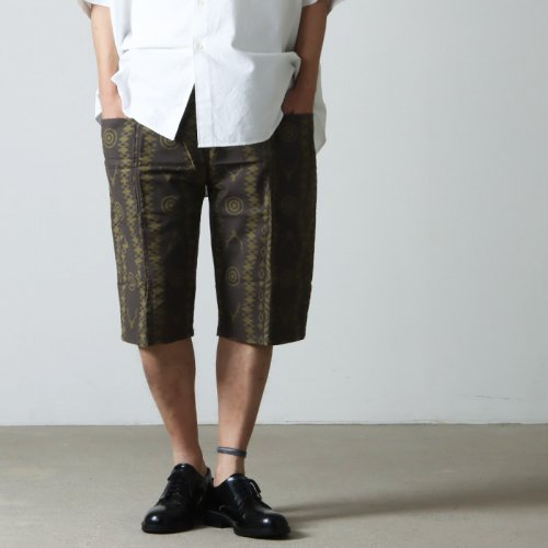 South2 West8 (サウスツーウエストエイト) String Slack Pant - Printed Flannel / Paisley / ストリングスラックパンツ