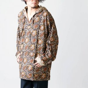 South2 West8 (サウスツーウエストエイト) Mexican Parka - Printed Flannel / Paisley / メキシカンパーカー