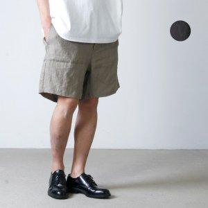BAMBOOSHOOTS (バンブーシュート) LINEN CLOTH SLEEPING SHORTS / リネンクロススリーピングショーツ