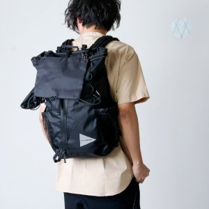 and wander (アンドワンダー) X-Pac 30L backpack / X-Pac 30リットルバックパック