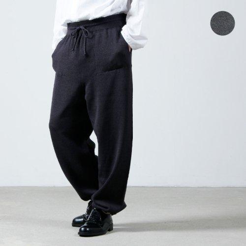 crepuscule (クレプスキュール) wholegarment pants / ホールガーメントパンツ
