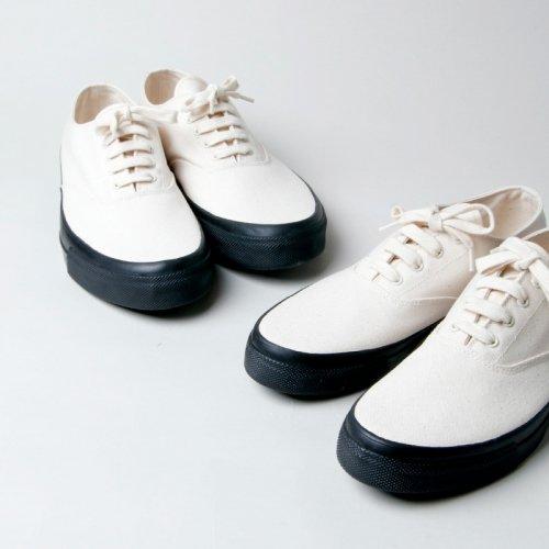 ANATOMICA (アナトミカ) WAKOUWA DECK SHOES LOW BLACK SOLE / ワクワデッキシューズローブラックソール
