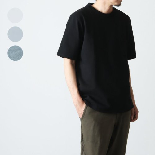 Jackman (ジャックマン) Dotsume Pocket T-Shirt / 度詰めポケットTシャツ