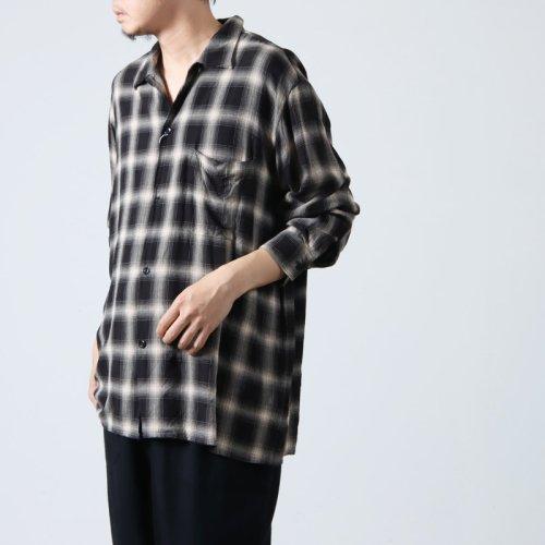 COMOLI (コモリ) フットボールTシャツ