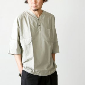FUJITO (フジト) Henley Neck Shirt / ヘンリーネックシャツ