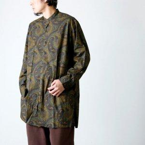KAPTAIN SUNSHINE (キャプテンサンシャイン) Pullover Band Collar Shirt / プルオーバーバンドカラーシャツ