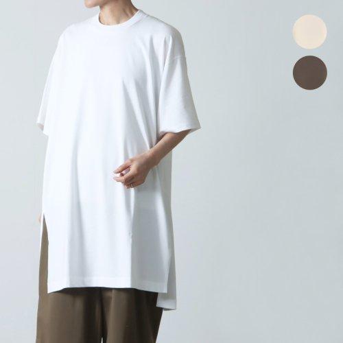 unfil (アンフィル) recycle cotton jersey 5XL sized Tee / リサイクルコットンジャージービッグティー