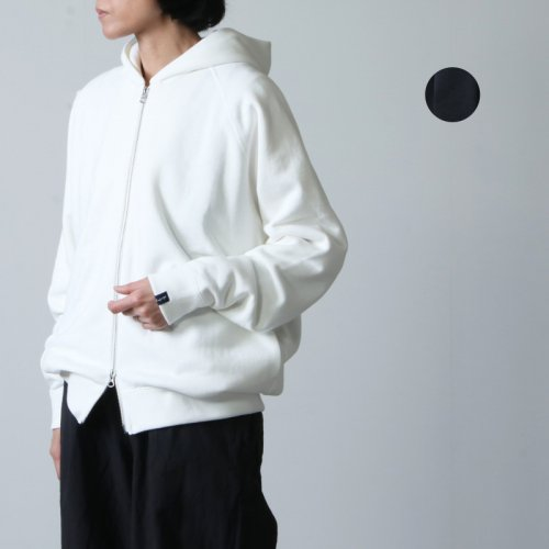 Graphpaper (グラフペーパー) LOOPWHEELER for Graphpaper Full-Zip Parka size0 / ループウィラーグラフペーパーフルジップパーカー