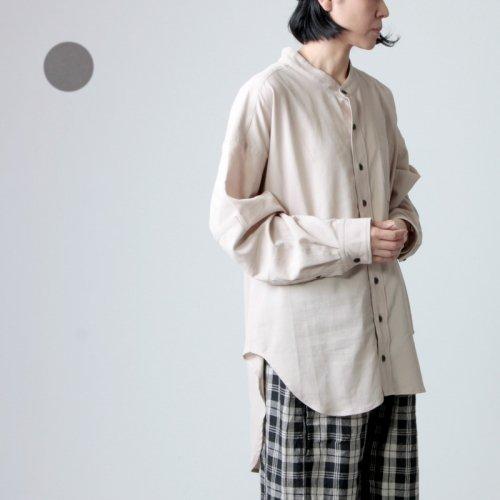 BASISBROEK (バージズブルック) LOMONT / バンドカラーシャツ