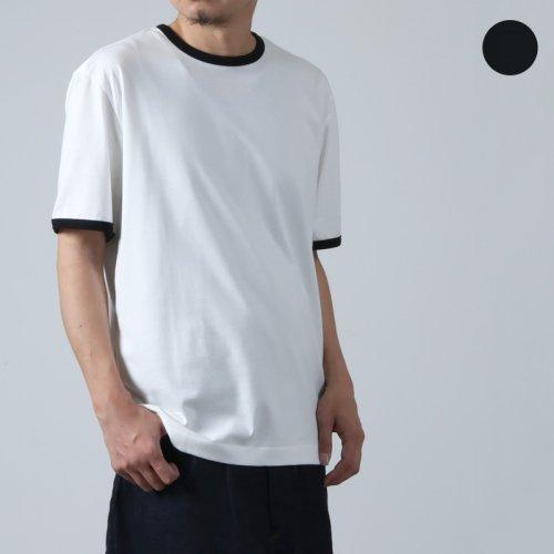 THE HINOKI (ザ ヒノキ) オーガニックワイルドコットンリンガーTシャツ