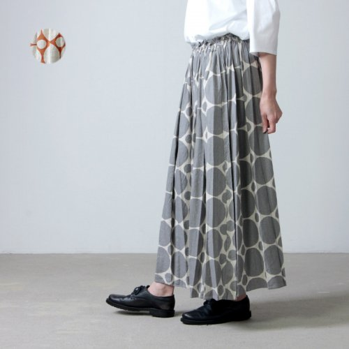 [THANK SOLD] ina (イナ) ドットギャザースカート