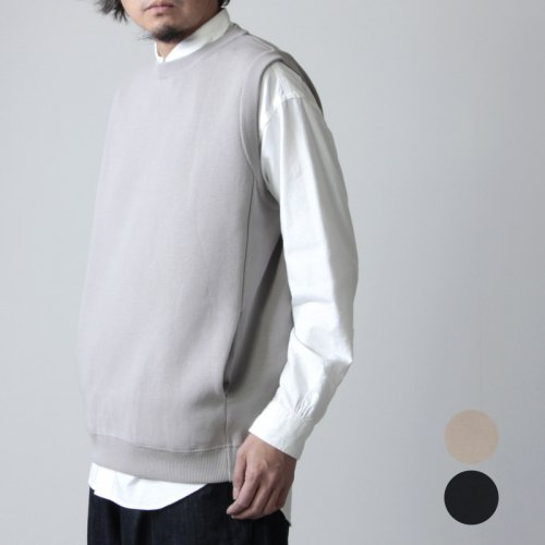 crepuscule (クレプスキュール) milanorib vest / ミラノリブベスト