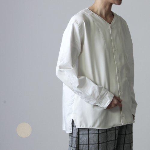 LOLO (ロロ) 配色コンビネーションシャツ size:S