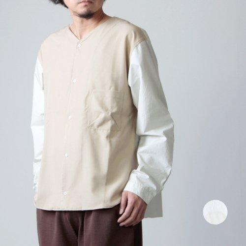 LOLO (ロロ) 配色コンビネーションシャツ