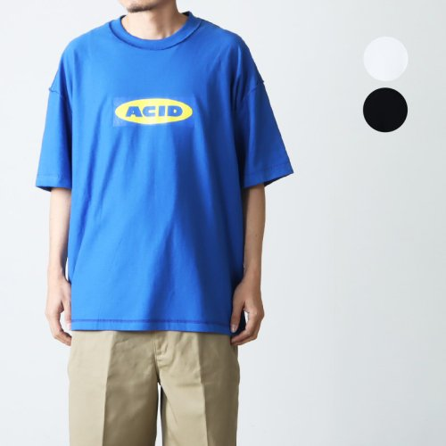 [THANK SOLD] is-ness (イズネス) ISNESS MUSIC COMPACT DISCO T-SHIRT / コンパクトディスコTシャツ