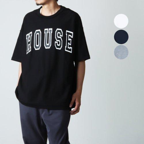 [THANK SOLD] is-ness (イズネス) ISNESS MUSIC HOUSE T-SHIRT / ハウスTシャツ