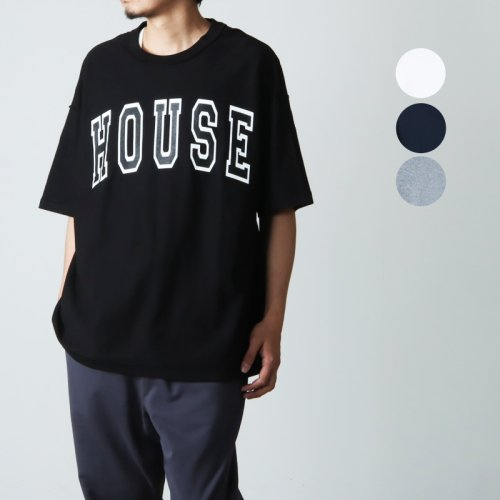 is-ness (イズネス) ISNESS MUSIC HOUSE T-SHIRT / ハウスTシャツ