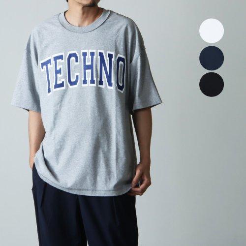 is-ness (イズネス) ISNESS MUSIC TECHNO T-SHIRT / テクノTシャツ