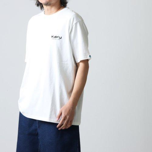 KAVU (カブー) Mountein Logo Tee / マウンテンロゴT