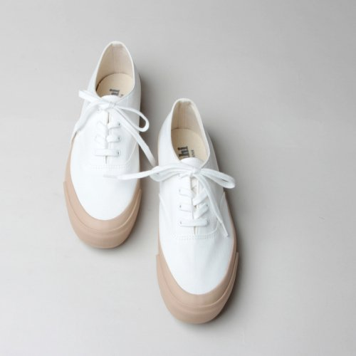 ASAHI (アサヒ) ASAHI DECK WOMEN - WHITE / BEIGE / アサヒデッキ