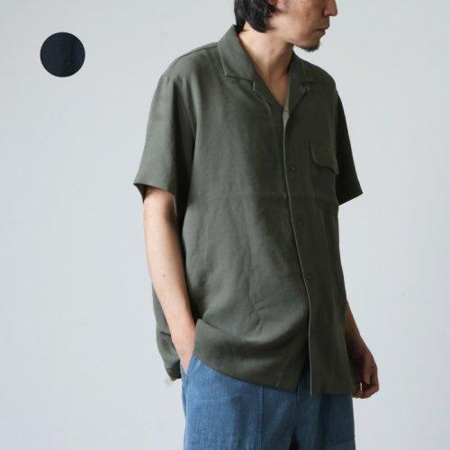 [THANK SOLD] snow peak (スノーピーク) Quick Dry Crepe Weave Soft Shirt / クイックドライ クレープ ソフト シャツ