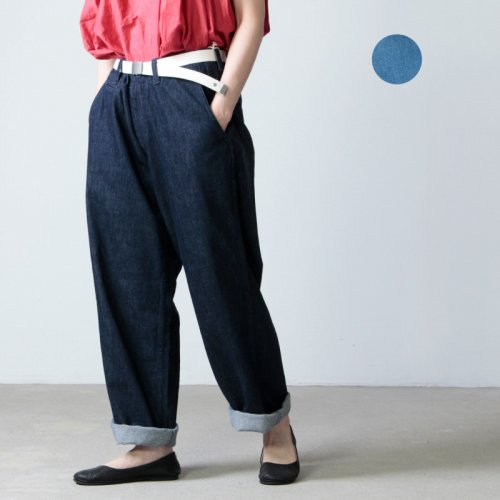 [THANK SOLD] MASTER & Co. (マスターアンドコー) ONE WASHED DENIM PANTS / デニムパンツ