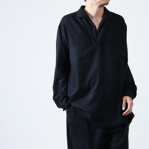 COMOLI (コモリ) ベタシャン オープンカラーシャツ