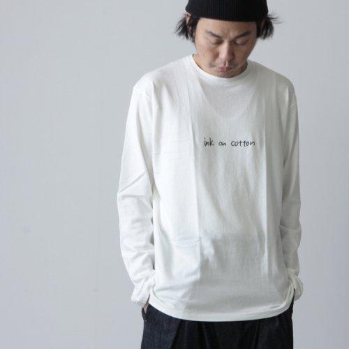 YAECA (ヤエカ) Ken Kagami PRINT LONG SLEEVE TEE / ケンカガミ プリントロングスリーブ Tシャツ