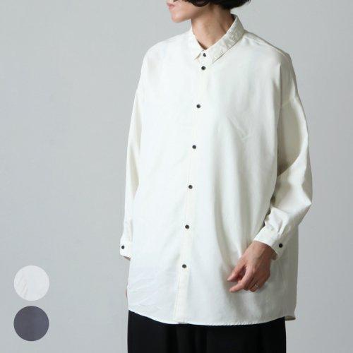 NO CONTROL AIR (ノーコントロールエアー) フィブリルテンセル ポプリン オーバーサイズシャツ