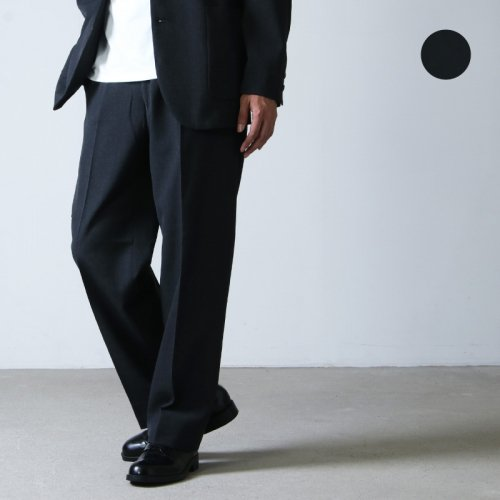[THANK SOLD] MARKAWARE (マーカウェア) FRONT PLEATS PEG TOP / フロントプリーツペグトップ