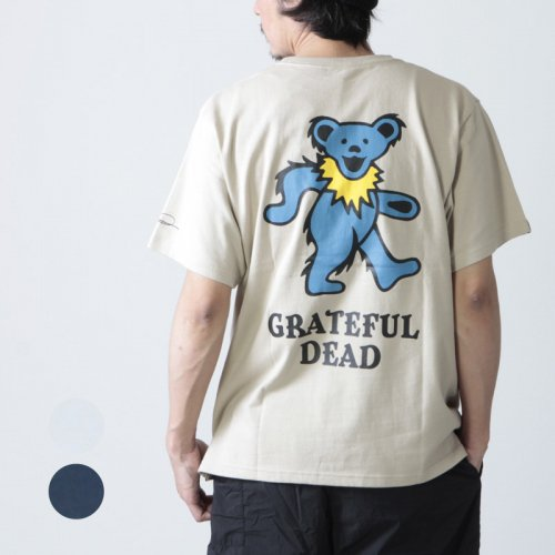 MOUTAINSMITH (マウンテンスミス) MOUNTAINSMITH × GRATEFUL DEAD POCKET-T DEAD BEAR / デッドベアT