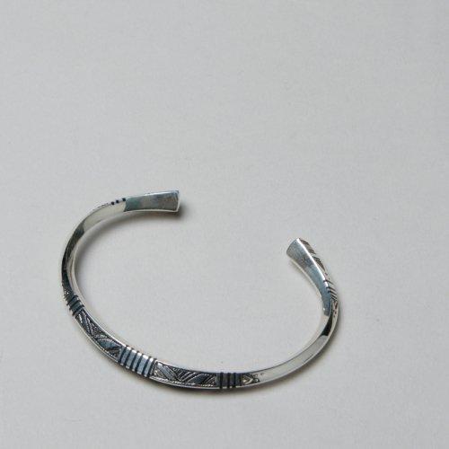 Touareg Silver (トゥアレグシルバー) Bangle 24 / バングル24