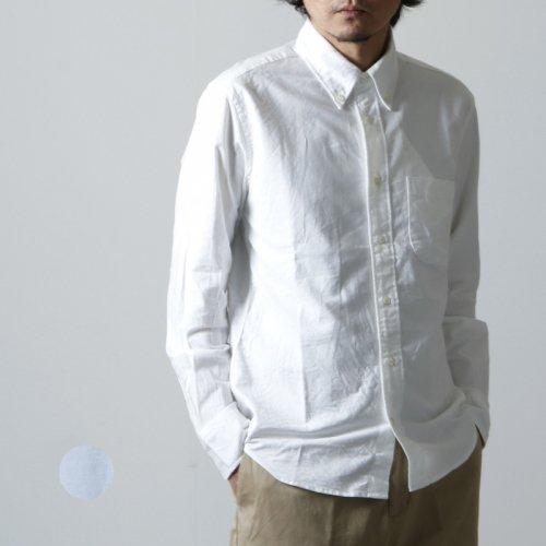 MANUAL ALPHABET (マニュアル アルファベット) SUPIMA OX BD SHT Suitable Fit / スーピマオックス ボタンダウンシャツ