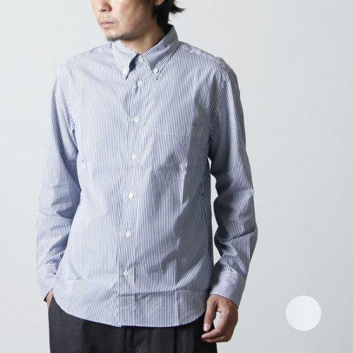 MANUAL ALPHABET (マニュアル アルファベット) 100/2 BROAD BD SHT Suitable Fit / ブロード ボタンダウンシャツ