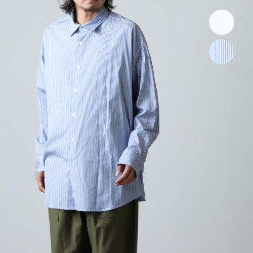 is-ness (イズネス) VELOR MOCKNECK L/S T-SHIRT / ベロアモックネック ロングスリーブTシャツ