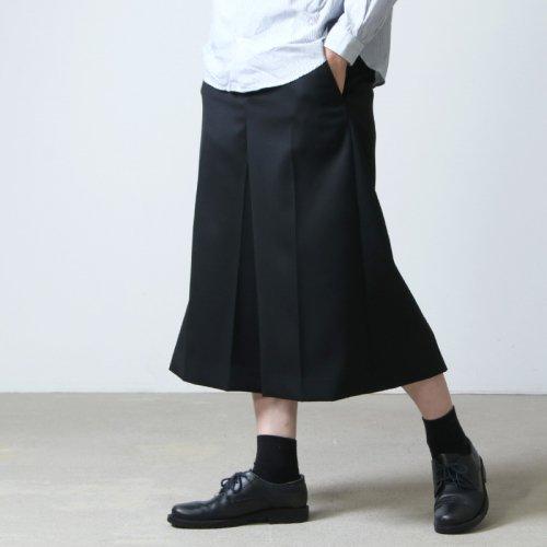 beautiful people (ビューティフルピープル) wool gabardin culotte pants / ウールギャバジンキュロットパンツ