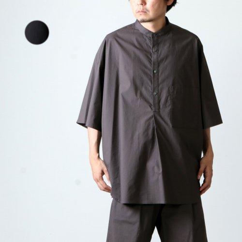 Graphpaper (グラフペーパー) Stretch Typewriter Stand Collar Yoke Sleeve Shirt / ストレッチタイプライタースタンドカラー