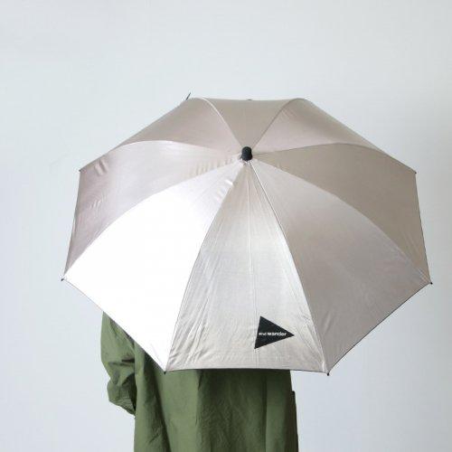 and wander (アンドワンダー) and wander EuroSCHIRM umbrella UV / アンドワンダー ユーロシルム アンブレラ UV