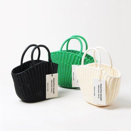 beautiful people (ビューティフルピープル) tube knitting basket S / チューブニットングバスケットエス