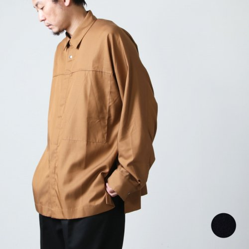 ANEI (アーネイ) S.S. ACTIVE SHIRT / アクティブシャツ