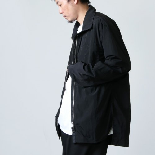 ANEI (アーネイ) ZIPUP SHIRT A / ジップアップシャツ A