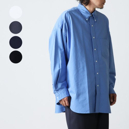 Graphpaper (グラフペーパー) Oxford Oversized B.D Shirt / オックスフォードオーバーサイズドボタンダウンシャツ