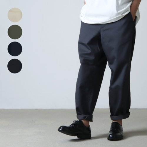 THE NORTH FACE PURPLE LABEL (ザ ノースフェイス パープルレーベル) Stretch Twill Wide Tapered Pants
