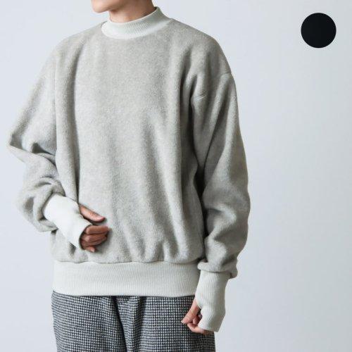ALWEL (オルウェル) FLEECE SHIRTS / フリースシャツ