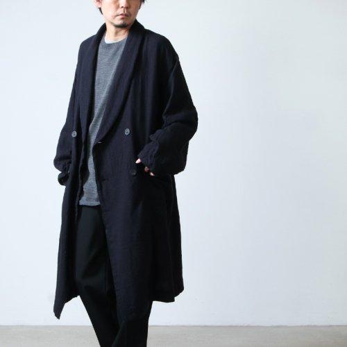 08sircus (ゼロエイトサーカス) Wool viyella fulling coat / ウールビエラフーリングコート