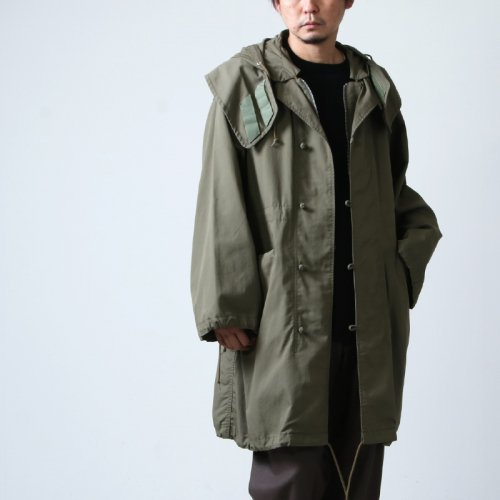 08sircus (ゼロエイトサーカス) C/N oxford M-51 military coat / コットンナイロンオックスフォード M-51 ミリタリーコート