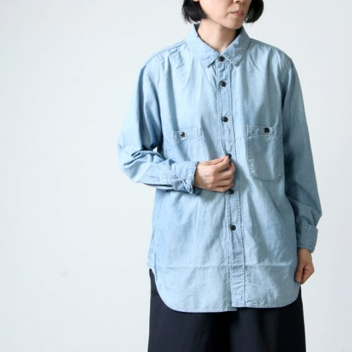 Ordinary Fits (オーディナリーフィッツ) Re:ORDINARY  CHAMBRAY WORK SHIRTS 1year / リ オーディナリー シャンブレーワークシャツ